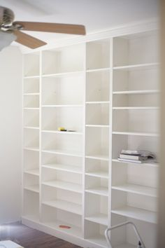 15+ DIY Built-In Shelving Ideas