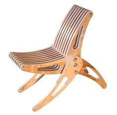 Trevor O'Neil's amazing folding deck chair. via CMYBacon. #home #products