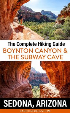How to hike the Boynton Canyon Trail in Sedona, Arizona. Plus, learn how to add on the Subway cave (Boynton Cave) and the Boynton Vista Trail.