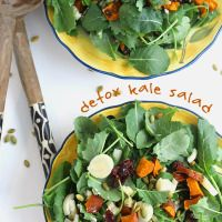 Detox Kale Salad - The Healthy Maven