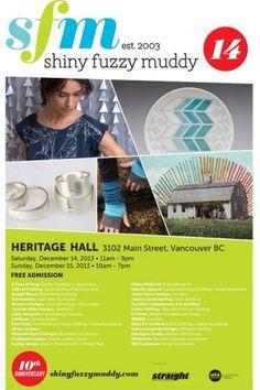 Shiny Fuzzy Muddy: Heritage Hall - Vancouver - Sat, 14 Dec 2013
