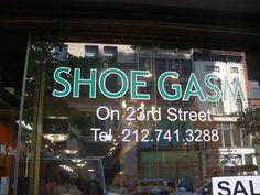 Great shop name #NYCSHOES