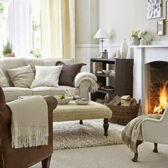 I'd give anything to spend today curled up in front of that fire... sigh...