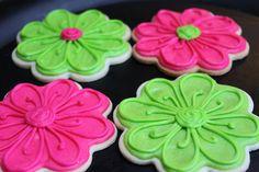Cute Flower cookie