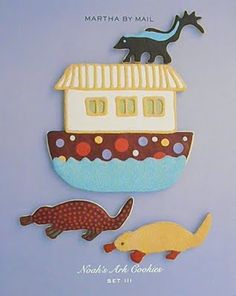 Good Things by David: Martha by Mail Noah's Ark Cookie Cutters ~ Set III