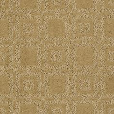 "Modern yet Classic carpeting by HGTV HOME Flooring by Shaw in style ""Stylish Grid"" color Sundial"