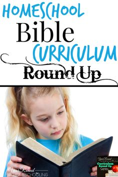 Homeschool Bible Curriculum Round Up - http://www.yearroundhomeschooling.com/homeschool-bible-curriculum-round-up/