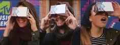 Virtual reality MTV Ema 2015. Mensen konden door heel de wereld via virtual reality er bij zijn. 360 graden kijken door de zaal en de uitzending meekijken.