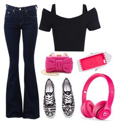 Gamer by mag11rich on Polyvore featuring polyvore, fashion, style, rag & bone, H&M, Boutique Moschino and clothing