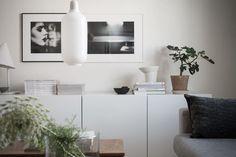 Small white living space - via Coco Lapine Design blog