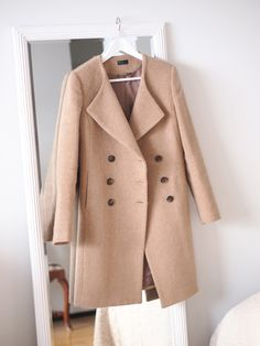 Perfect Camel Coat from Benetton