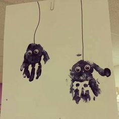 Halloween kids activity spiders!