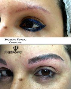 #pmu #microblading #phibrows #eyebrows #truccopermanentesopracciglia #truccopermanente #truccosemipermanente #dermopigmentação #dermopigmentazione #nofilter #sopracciglia #cremona #sopraccigliatatuate #realisticeyebrows