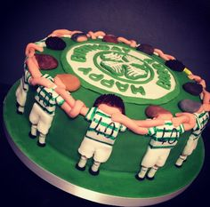 #celticfc football cake for a fan