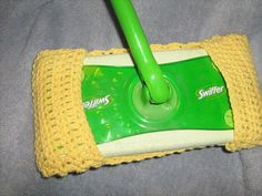 Crochet Swiffer Cover by craftheart on Etsy, $5.50