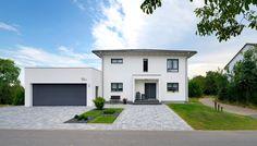 Stadtvilla - elegantes Raumwunder mit viel Platz für die Familie | Fertighaus WEISS | Haus Engelhardt