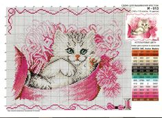 Мобильный LiveInternet Кошечки в вышивке и аппликация. | dikulya67 - МОЙ МИР |