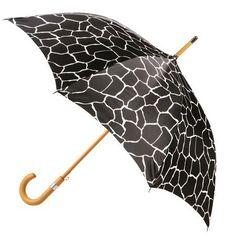 Totes Giraffe Fashion Deluxe Stick Umbrella