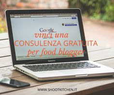 Sei un food blogger? Vinci una consulenza gratuita per il tuo blog! http://www.shootkitchen.it/consulenza-gratuita-per-food-blogger/