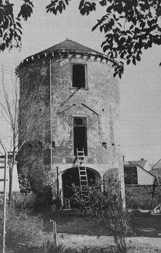 Jackson Barracks, New Orleans, Louisiana, 1941. Old powder house before rennovation by WPA.