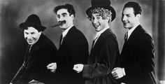 The Marx Borthers ~ Chico, Groucho, Harpo and Zeppo