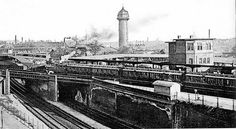 1926 Am Bahnhof Berlin-Ostkreuz S Bahn, Berlin Wall, Berlin Germany, Public Transport, Old Photos, Trip Advisor, Paris Skyline, Black And White Pictures, Europe