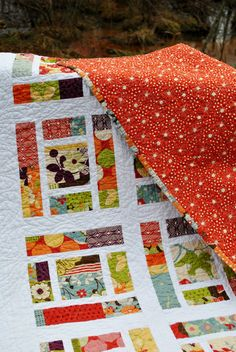 PDF baby quilt PATTERN or Lap Quilt.... Layer Cake, Fat Quarters, or scraps ...Sassy Frass. $9.00, via Etsy.