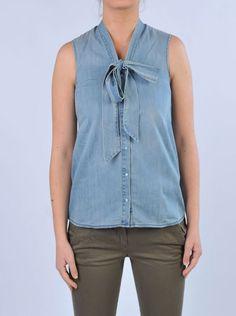 MERCI - Camicia jeans | Di Pierro http://www.dipierrobrandstore.it/product/2595/Camicia-jeans.html