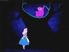 Google+ Art Disney, Disney Magic, Disney Movies, Gif Animé, Animated Gif, Disney And Dreamworks, Disney Pixar, Imagenes Gift, Chesire Cat