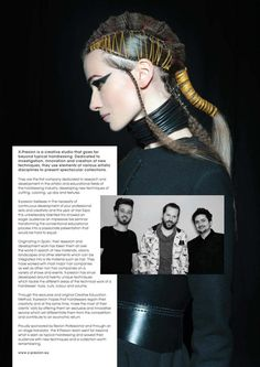 HAIR BIZ by Saverio Marfia, via Behanc  Basic tones of ·#xpresionthread  Puchase it at www.x-presion.eu