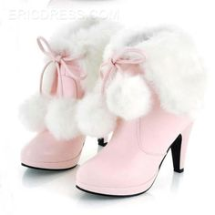 Ericdress Sweet Furry Tassels High Heel Boots Online store for the latest fashion & trends in women's collection. Shop affordable ladies' Dresses, Clothing, Shoes & Accessories with top quality. High Heel Boots, Heeled Boots, Shoe Boots, High Heels, Women's Boots, Ankle Boots, Platform Boots, Furry Boots, Wedge Boots