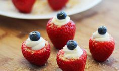 Cheezecake Stuffed Strawberries - Daiya Foods, Deliciously Dairy-Free Cheeses, Meals & More