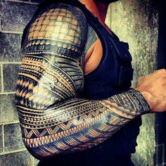 Roman Reigns Samoan Ink