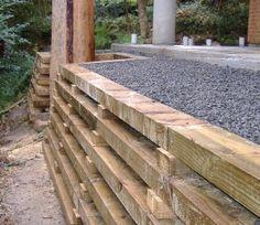timber crib wall - Google Search