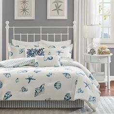 Discover the best coastal bedding sets and beach bedding sets. You will love our beach home bedding sets like comforters, quilts, and duvet cover sets. Beach Bedding Sets, Blue Comforter Sets, Coastal Bedding, Coastal Bedrooms, Luxury Bedding, Coastal Decor, Nautical Bedroom, Coastal Style, Coastal Cottage