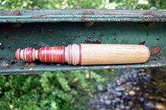 Yarn Winder Nostepinne Handcrafted Ambrosia Maple by AdzeWoodcraft