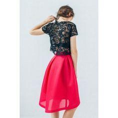 Black lace top #romantic #rustic #minimalism