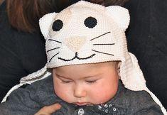 Free pattern  Naughty Kitty Baby Bonnet pattern by Svetlana M.