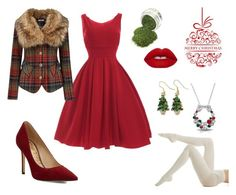 Merry Christmas by cassy-jayme-walbourne on Polyvore Dinner Outfits, Plaid Coat, Holiday Fashion, Holiday Parties, Night Out, Merry Christmas, Polyvore, Inspiration, Night Out Tops