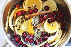 Stove Simmer (recipe for natural holiday fragrance at home!)