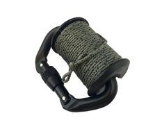 The Drop-Line RLD System is a specifically requested device by troops to carry on their MOLLE gear and belt loops for extended carry of both 550 and 3/32 Tether cordage. The Drop-Line wheel can accommodate about 50 feet of Paracord and 100 feet of 3/32 Tether cord. The matte black carabiner features a secure screw-down locking loop head to prevent loss under the most extreme conditions. The Delrin® wheel will not corrode and has a start and stop notch for cord placement for easy winding and…