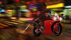 Speeding with lights by Maxxxer123