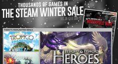 Steam's Winter Sale Has Officially Begun