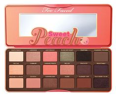 Too Faced Eyeshadow Palette Chocolate Bar & Bon Bons & Semi Sweet & Sweet Peach #UCANBE