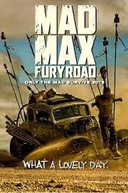 Resultado de imagen de mad max fury road poster