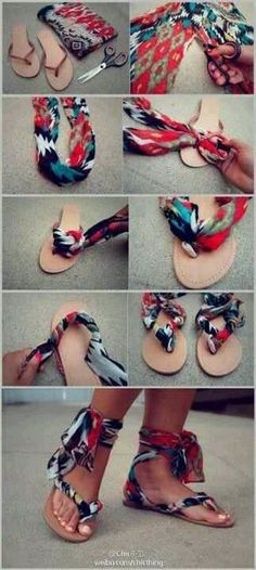 Sandles. I'm making a pair this summer.