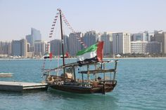 Traditional Arabic Dhow in Abu Dhabi