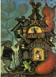 Russian fairy tale By Yuri Vasnetsov
