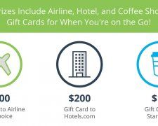 Win a $500 Airline Gift Card