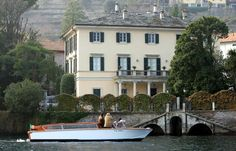 4th of July at George Clooney's residence in Italy